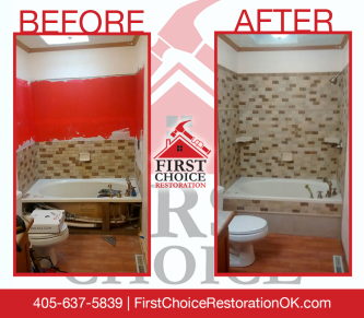 Bathroom Remodeling - First Choice Restoration